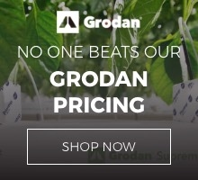 Grodan indoor growing supplies