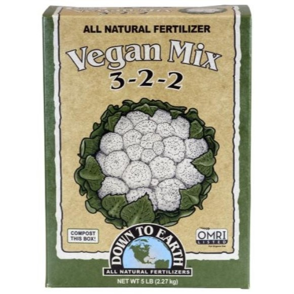Down To Earth Vegan Mix