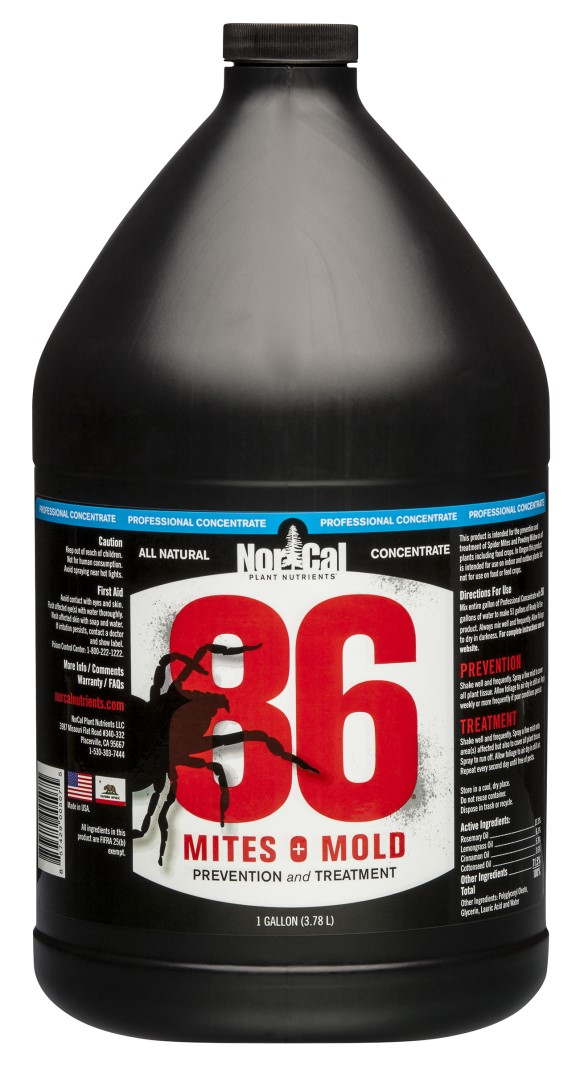 86 Mites and Mold 1 Gallon PRO Concentrate (Makes 51 Gallons)