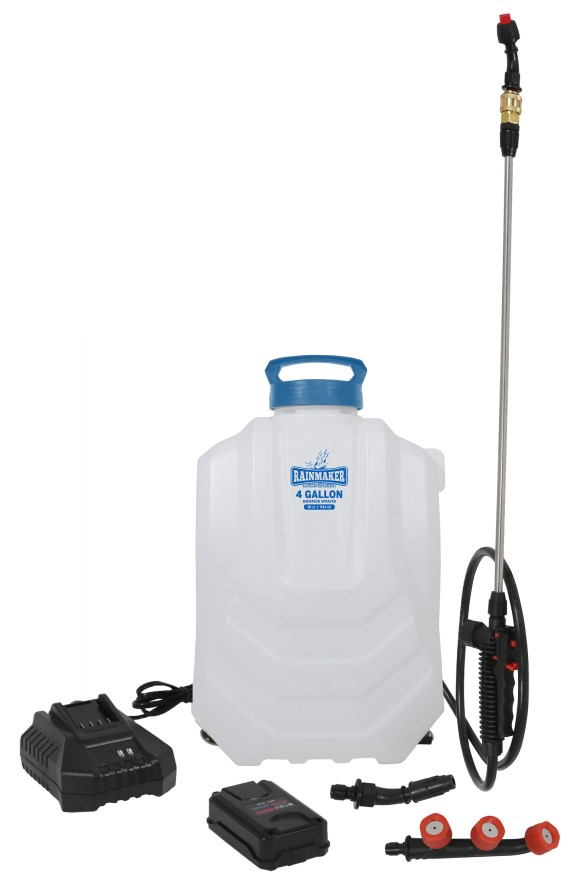 Rainmaker 18 Volt Lithium Ion Backpack Sprayer 4 Gallon