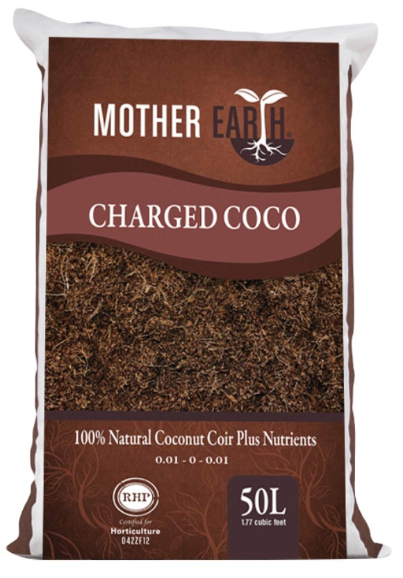 Mother Earth Charged Coco 50 Liter 1.5 cu ft