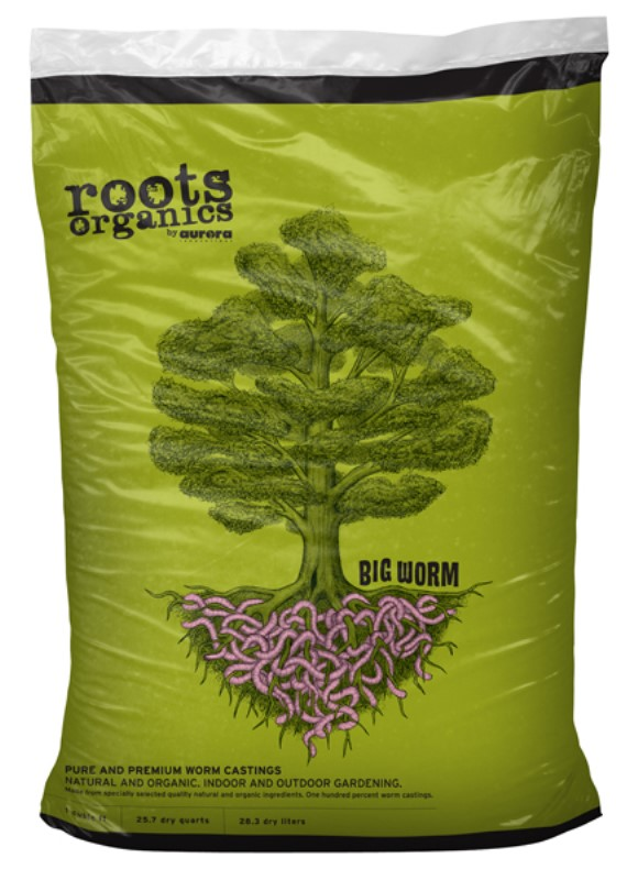 Roots Organics Big Worm 1 Cu Ft