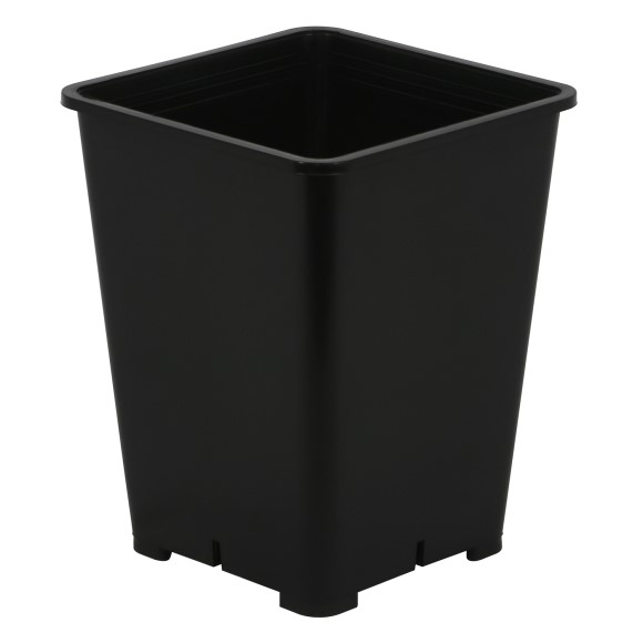 Gro Pro Premium Black Square Pot