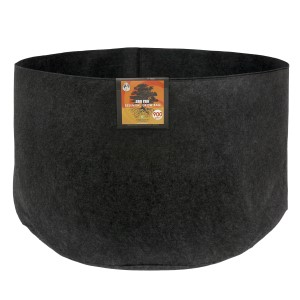 Gro Pro Essential Round Fabric Pot - Black 900 Gallon