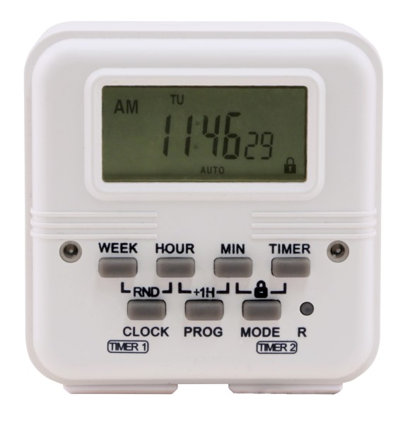 Titan Controls Apollo 18 Two Outlet Dual Schedule Digital Timer