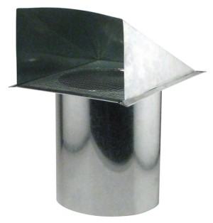 Ideal-Air Screened Wall Vent 8 in