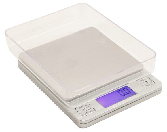 Measure Master 3000g Digital Table Top Scale w/ Tray 3000g Capacity x 0.1g Accuracy