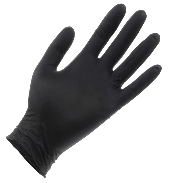 Black Lightning Powder Free Nitrile Gloves (100/Box)
