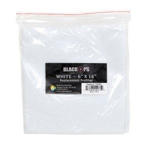 Black Ops Replacement Pre-Filter 6 in x 16 in White