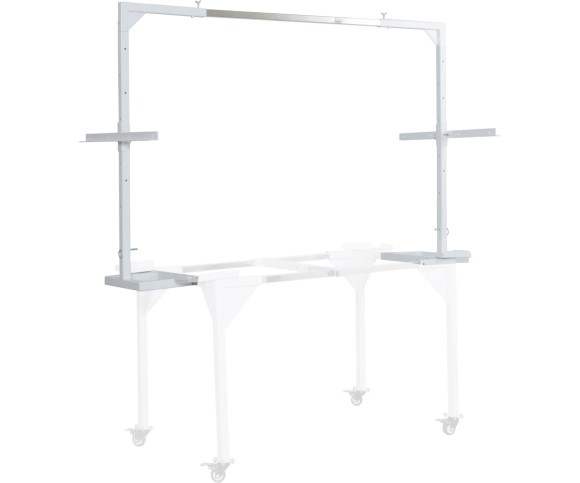 Active Aqua 2' x 4' Light Hanger w/Trellis Bar