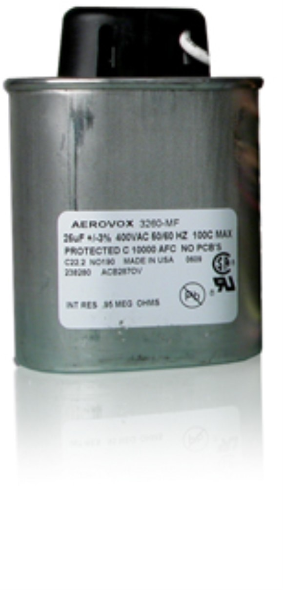 Capacitor, 400W, 2/2, Convertible