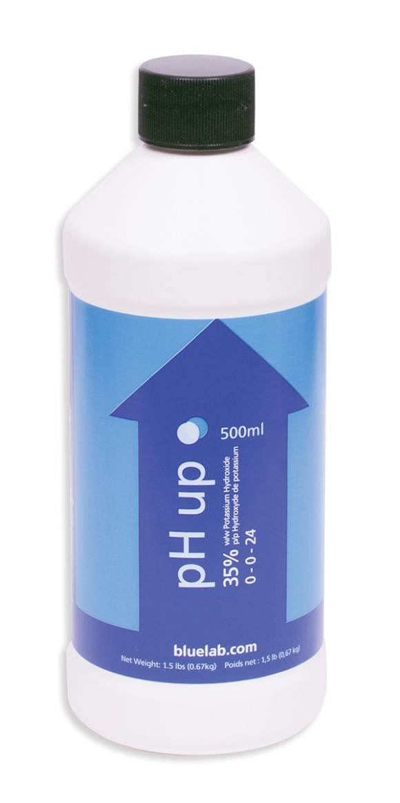 Bluelab pH Up, 500 ml Bottle, case of 20