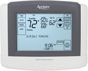 Anden by Aprilaire Touchscreen Wi-Fi Automation IAQ Thermostat
