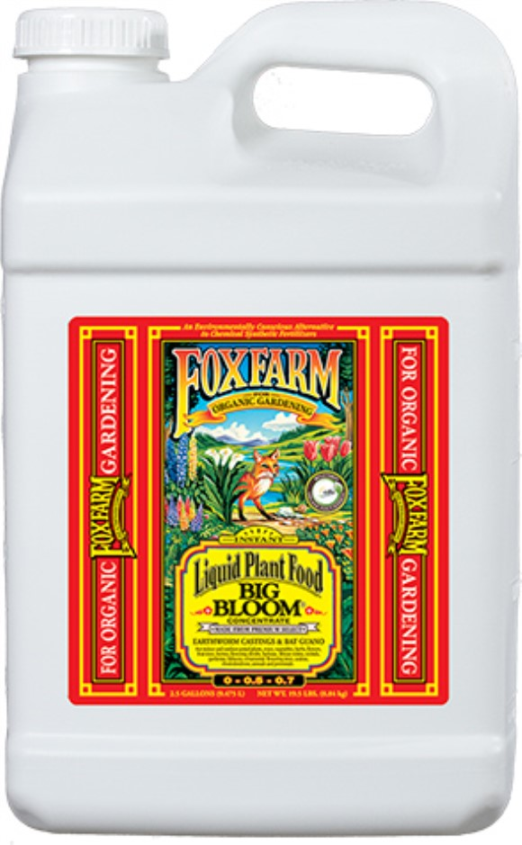FoxFarm Big Bloom Liquid Concentrate, 2.5 gal