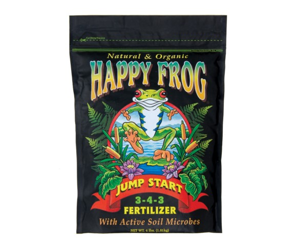 FoxFarm Happy Frog® Jump Start with Mycorrhizae & Humic Acid, 3-4-3 Fertilizer, 4 lbs