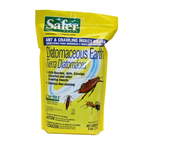 Safer Diatomaceous Earth Insect Killer, 4 lb
